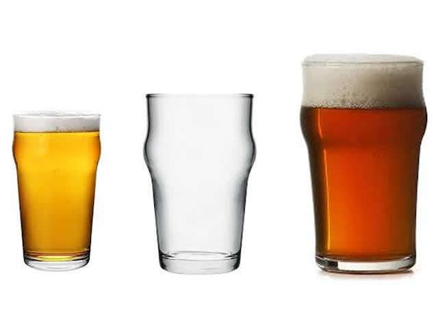 Bicchiere birra vetro temperato collezione nonic - Porta bicchieri birra ...