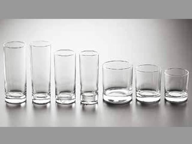 Bicchiere di vetro collezione cortina vetri e cristalli biolav - Decorare bicchieri di vetro ...