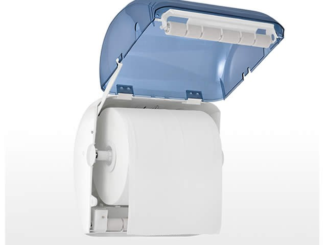 Dispenser portarotolo industriale elettronico no touch - Portarotolo bagno ...