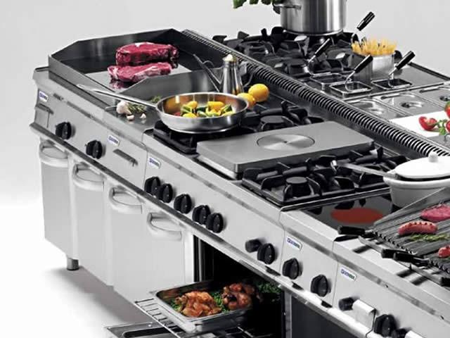 Sistema modulare professionale per la cottura tecno70 for Cucine modulari