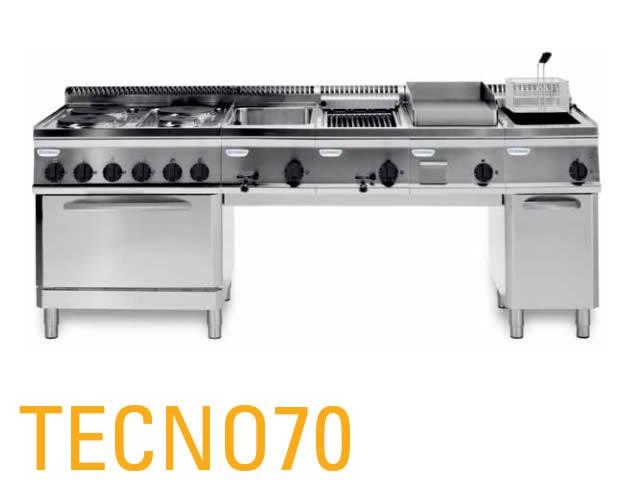 sistema modulare professionale per la cottura tecno70 ... - Attrezzature Professionali Cucina